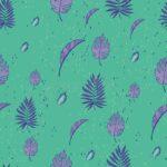 verde acqua e viola