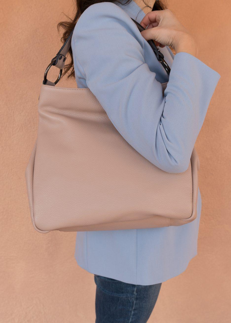 borsa rosa chiaro