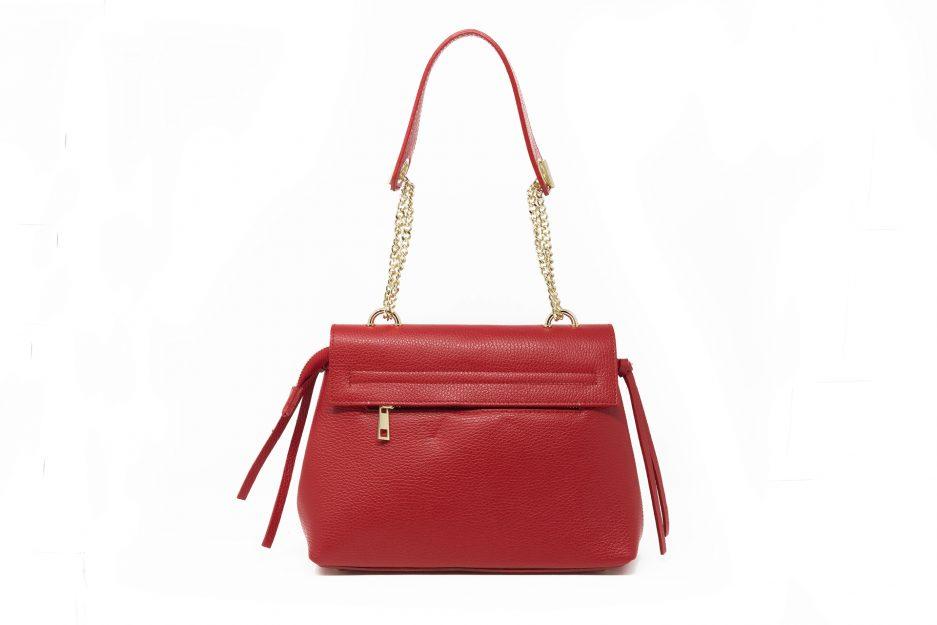 borsa rossa made in italy
