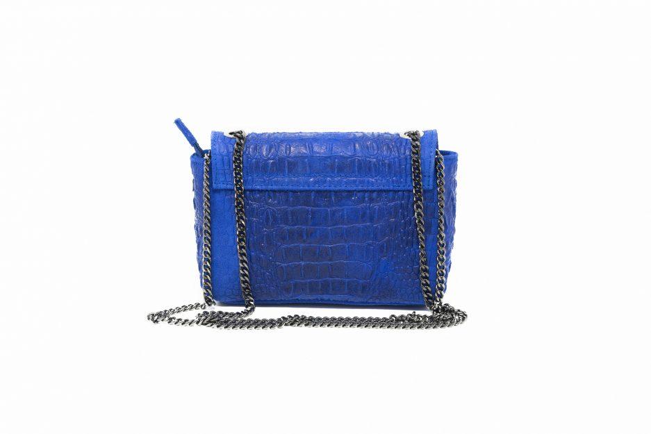 borda blu elettrico artigianale