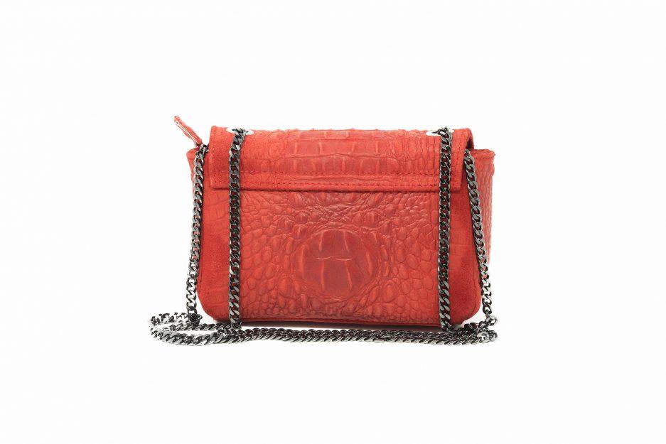 borsa rosso caldo
