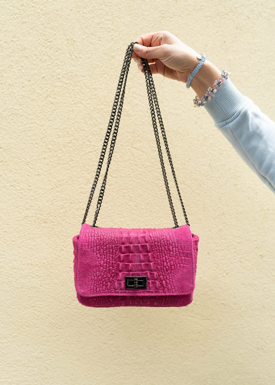 mini bag fucsia