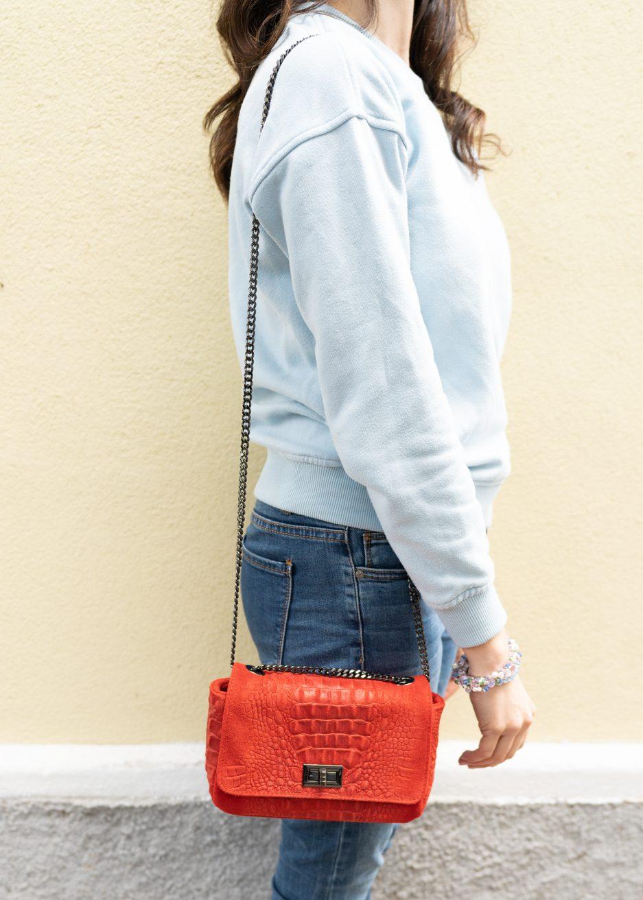mini bag rossa