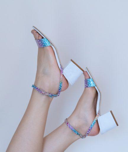 sandali multicolor
