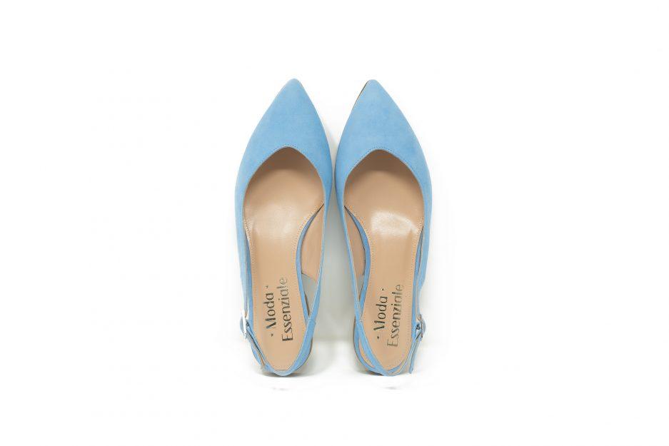 scarpe celesti