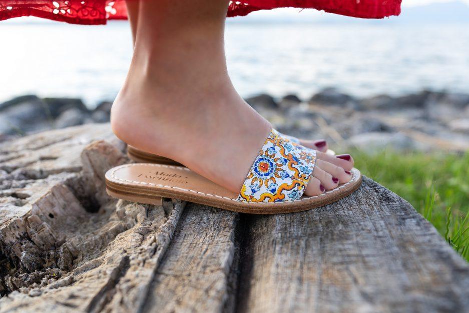 sandali positano moda essenziale