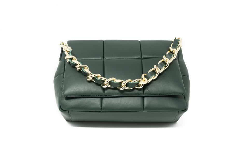 borsa verde scuro