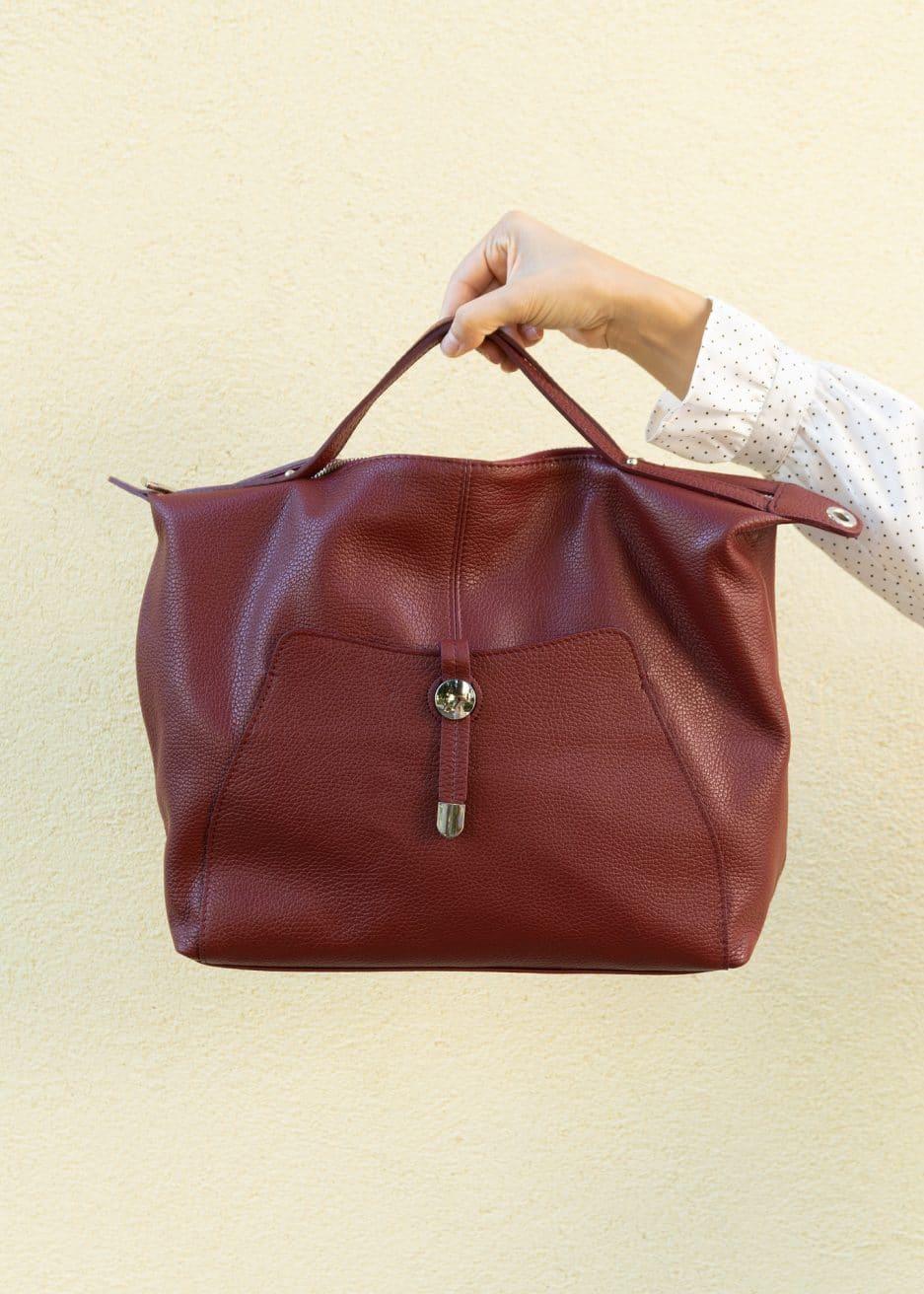 borsa grande rossa