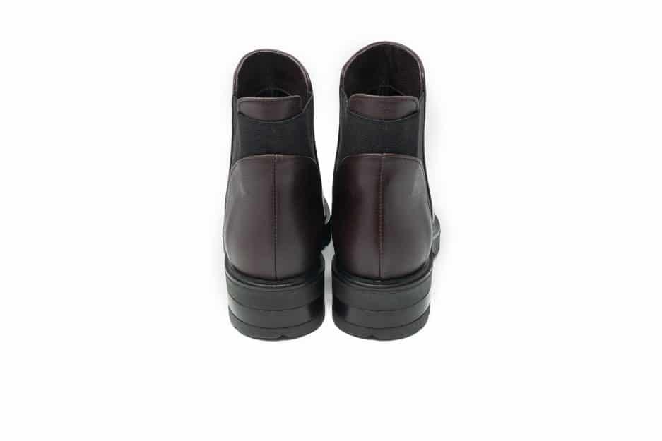 chelsea boots donna bordeaux