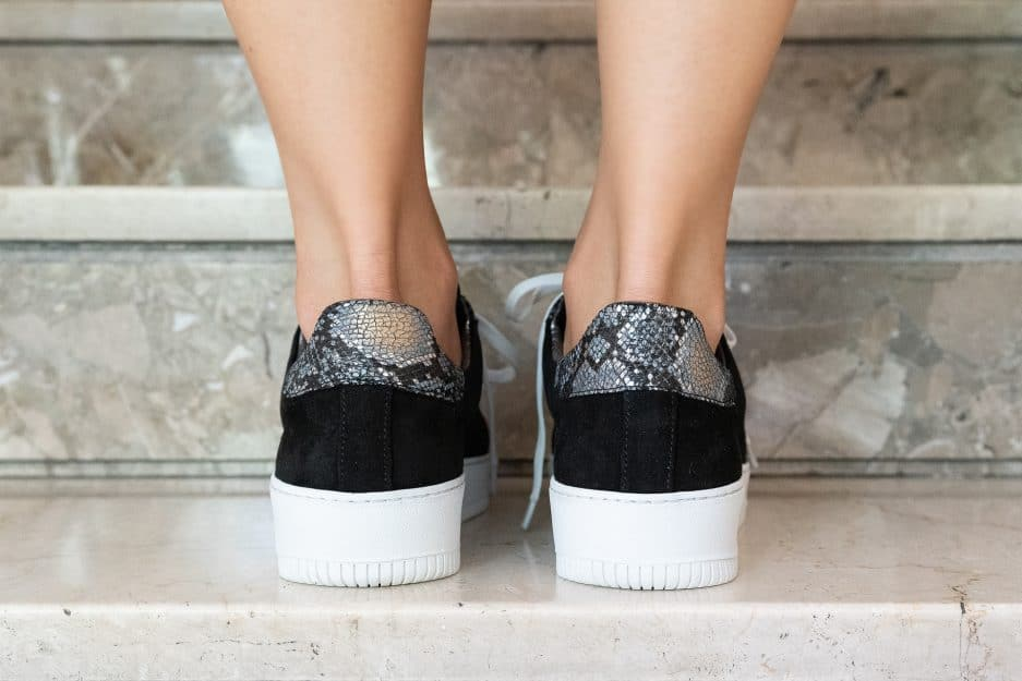 sneakers nere donna